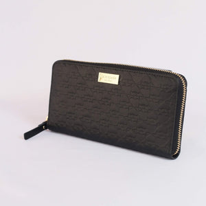Kate Spade Neda Penn Place Embossed Wallet WLRU6048 In Black