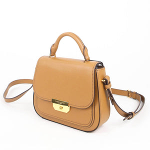 Marc Jacobs Mini Rider M0016101 Top Handle Crossbody Bag In Brown Butter