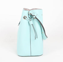 Load image into Gallery viewer, Kate Spade Large Marti WKRU6827 Bucket Crossbody Bag In Aqua Bloom