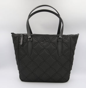 Kate Spade Medium Jae WKRU7031 Quilted Satchel In Black