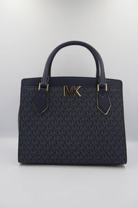 Michael Kors Mott 35T0GOXS7B Large Satchel Bag In Admiral
