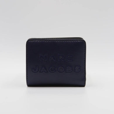 Marc Jacobs Folded M0015752 Mini Wallet In Indigo