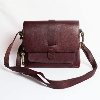 Fossil Small Kinley Crossbody Bag In Fig