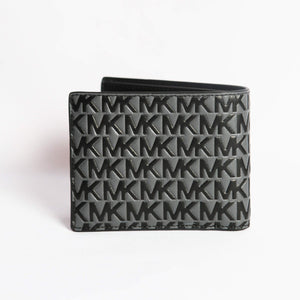 Michael Kors Harrison Billfold With Passcase  36S0LCOF2L In Greyhound