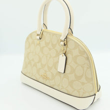 Load image into Gallery viewer, Coach Mini Sierra Satchel F27583 In Light Khaki