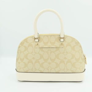 Coach Mini Sierra Satchel F27583 In Light Khaki