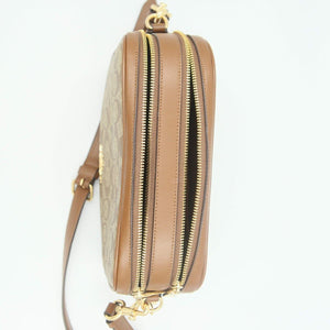 Coach Signature Jes Crossbody Bag F68168 In Khaki Saddle
