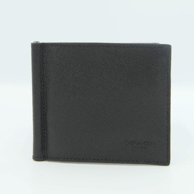 Coach Bilfold Money Clip F23847 In Black
