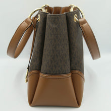 Load image into Gallery viewer, Michael Kors Nicole Large Shoulder Tote 35H9GNIE7B In Brown