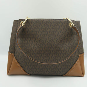 Michael Kors Nicole Large Shoulder Tote 35H9GNIE7B In Brown