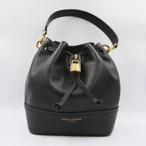 Marc Jacobs Lock That M0016099 Bucket Bag In Black