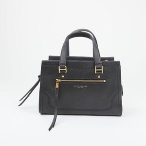 Marc Jacobs Cruiser M0015021 Leather Satchel Bag In Black