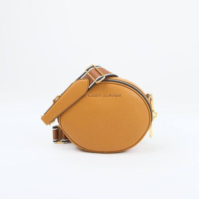 Marc Jacobs Rewind Oval M0016411 Crossbody Bag In Brown Butter
