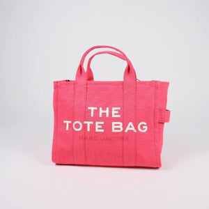Marc Jacobs Small The Traveller M0016161 Tote Bag In Bright Pink