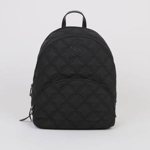 Kate Spade Large Karissa Quilted WKRU7054 Nylon Backpack In Black