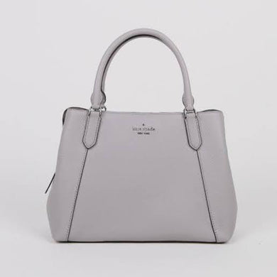 Kate Spade Medium Jackson WKR00089 Satchel Bag In Grey
