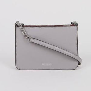 Kate Spade Eva Chain WLRU6276 Crossbody Bag In NimbusGrey
