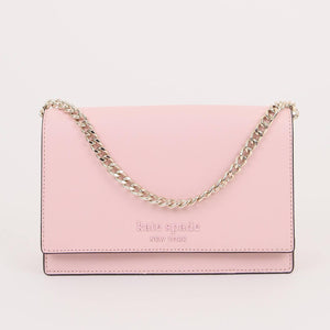 Kate Spade Cameron Monotone WKRU6430 Convertible Crossbody Bag In Tutu Pink