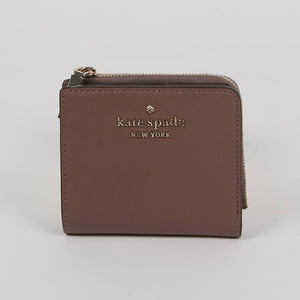 Kate Spade Small Staci WLR00143 L-Zip Bifold Wallet In DuskCity Scape