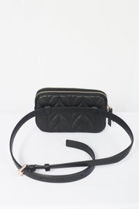Kate Spade  Briar Lane Quilted Double Zip Belt Bag WKRU6162 (Black)
