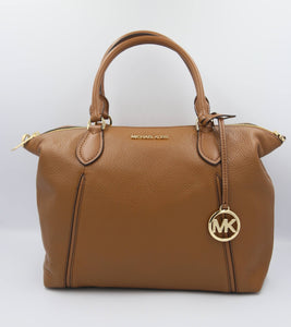 Michael Kors Lenox Large Satchel Bag 35S0GYZS3L In Luggage