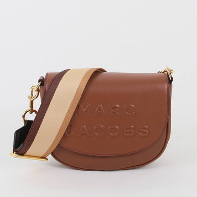 Marc Jacobs The Flash Saddle M0016396 Crossbody Bag In Falafel