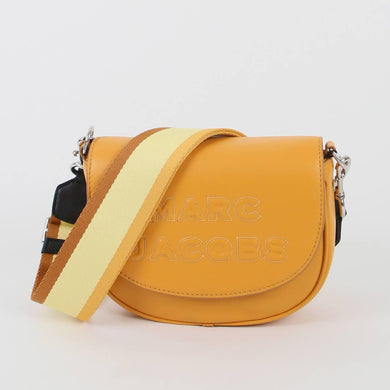 Marc Jacobs The Flash Saddle M0016396 Crossbody Bag In Golden Poppy