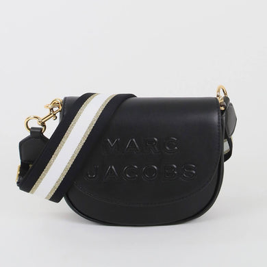 Marc Jacobs The Flash Saddle M0016396 Crossbody Bag In Black