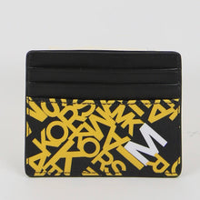Load image into Gallery viewer, Michael Kors Cooper Tall 36F0TCOD2R Card Case In Lemon
