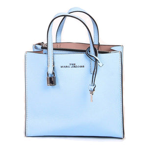 Marc Jacobs Mini Grind M0015685 Tote Bag In Blue Sea