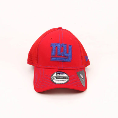 New Era New York Giants Team Neo Logo 39THIRTY Flex Hat In Red