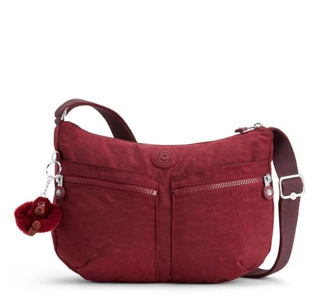 Kipling Izellah Crossbody Bag In Red