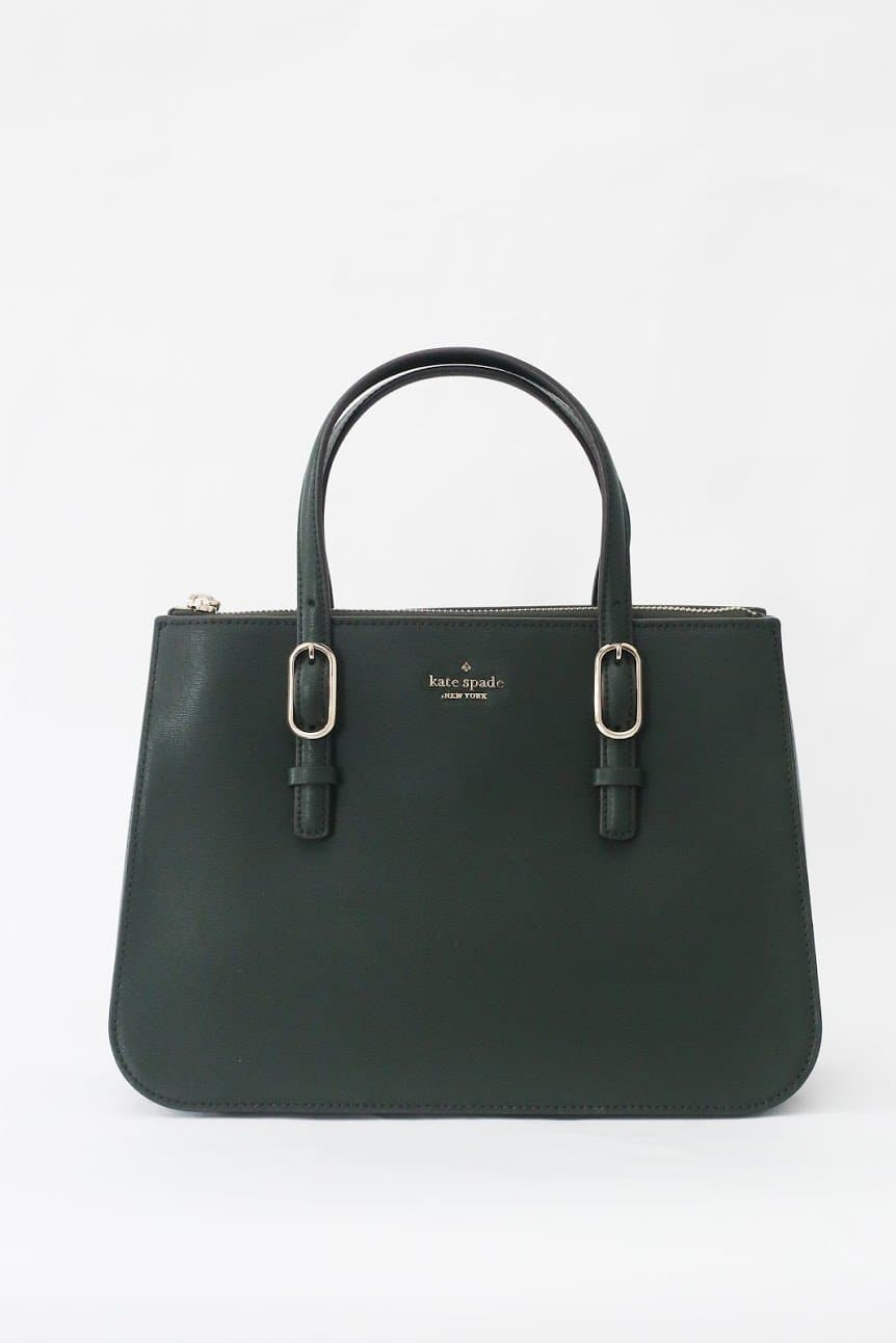 Kate Spade Connie Medium Triple Gusset Satchel (Spruce)