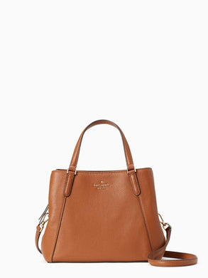 Kate Spade Jackson Medium Triple Compartment Satchel WKRU6040 (Warm Gingerbread)