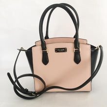 Load image into Gallery viewer, Kate Spade Jeanne Small Satchel WKRU6045 (Warm Vellum Black)