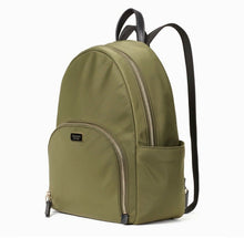 Load image into Gallery viewer, Kate Spade Large Dawn Backpack WKRU5919 (Olive Sapling)