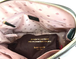 Kate Spade Medium Dome Satchel Patterson Drive (Spruce)