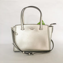 Load image into Gallery viewer, Kate Spade Patterson Drive Small Geraldine WKRU5652 (Light Metallic Silver)