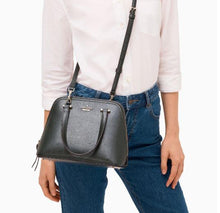 Load image into Gallery viewer, Kate Spade Small Dome Patterson Drive Crossbody Satchel WKRU6058 (Spruce)