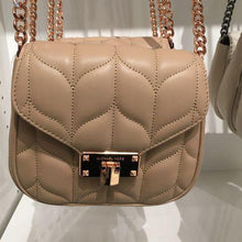 Load image into Gallery viewer, MICHAEL KORS HANDBAG PEYTON LARGE CONVERTIBLE SHOULDER (OYSTER) AS IS ITEM
