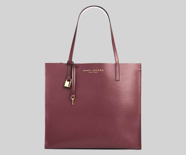 Marc Jacobs The Grind M0015684 Tote Bag In Deep Purple
