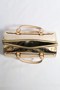 Michael Kors Kara Duffle Satchel 35H9GKKU3Z In Pale Gold