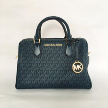 Load image into Gallery viewer, Michael Kors Bedford Large Duffle Satchel NS (Admiral Blue)