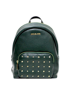 Michael Kors Medium Erin 35F0GERB8L Leather Backpack In Racing Green