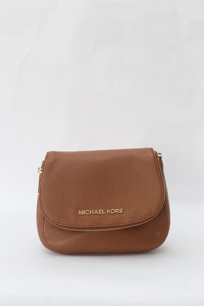 Michael Kors Bedford Small Flap Crossbody Leather 35F9GBFC1L (Luggage)