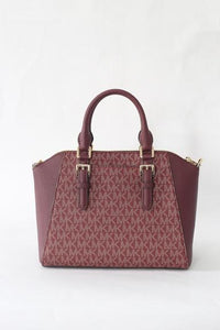 Michael Kors Ciara Oxblood MD Messenger NS