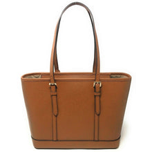 Load image into Gallery viewer, Michael Kors Jet Set Travel Small Zip Top Tote Bag 35S0GTVT1L In Luggage