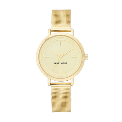 (PREORDER) Nine West Mesh Bracelet WATCH NW-2146CHGP