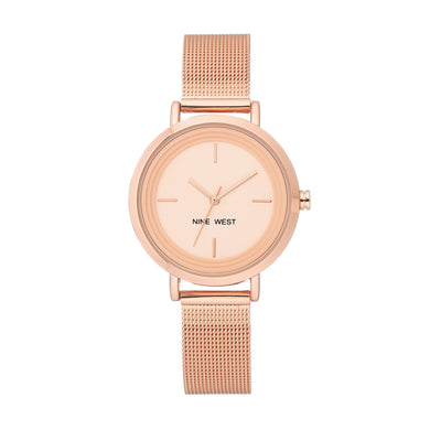 (PREORDER) Nine West Mesh Bracelet WATCH NW-2146RGRG