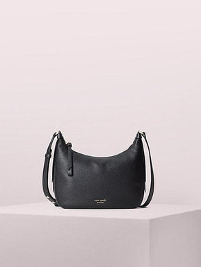 Kate Spade Lake Medium Crossbody Bag PXRUA788 In Black